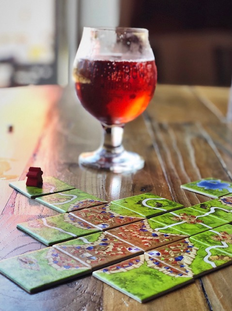 Beer and board game